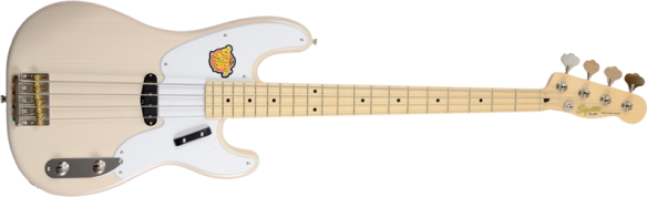 Squier Classic Vibe 50s P-Bass WBL Pine 030-3080-501