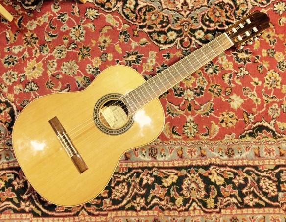 Klassik-Gitarre 3:4 Größe Antonio Hermosa AHQ-100