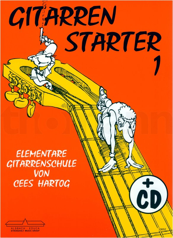 Cees Hartog Gitarrenstarter Band 1 mit CD.jpg